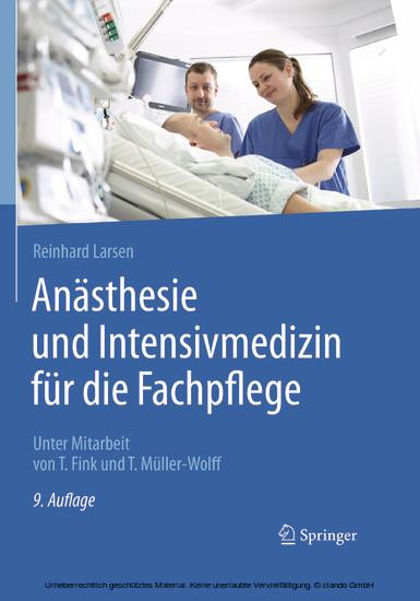 Anästhesie und Intensivmedizin für die Fachpflege - Blick ins Buch