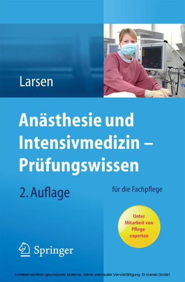 Anästhesie und Intensivmedizin - Prüfungswissen - Blick ins Buch