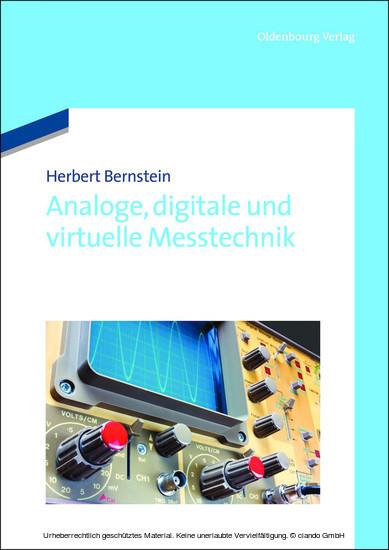 Analoge, digitale und virtuelle Messtechnik - Blick ins Buch
