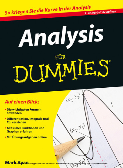 Analysis für Dummies - Blick ins Buch