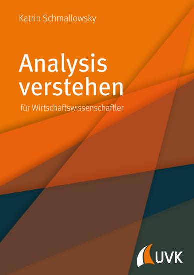 Analysis verstehen - Blick ins Buch