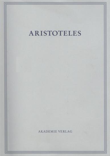 Analytica priora. Buch I - Blick ins Buch