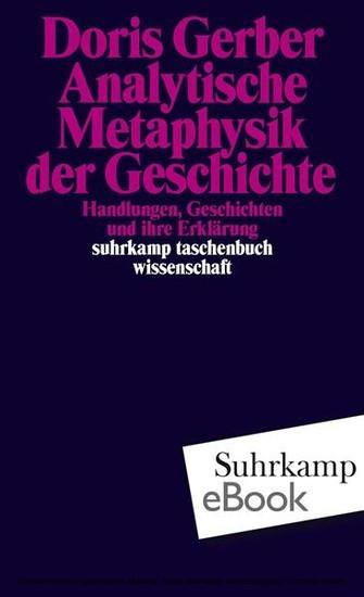 Analytische Metaphysik der Geschichte - Blick ins Buch