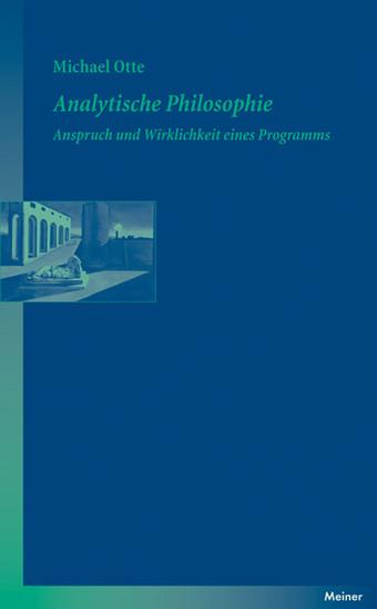 Analytische Philosophie - Blick ins Buch
