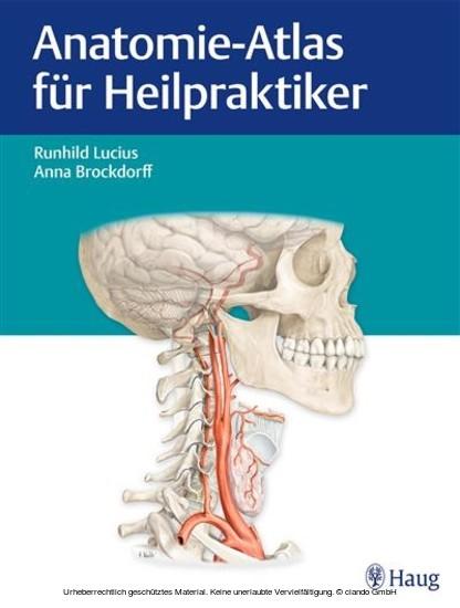 Anatomie-Atlas für Heilpraktiker - Blick ins Buch