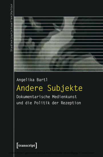 Andere Subjekte - Blick ins Buch