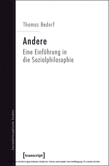 Andere - Blick ins Buch