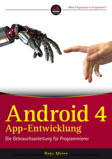 Android 4 App-Entwicklung - Blick ins Buch