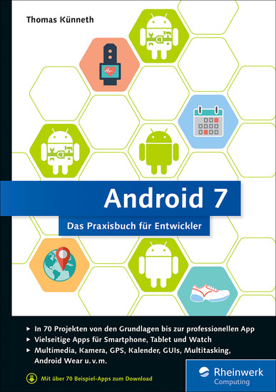 Android 7 - Blick ins Buch