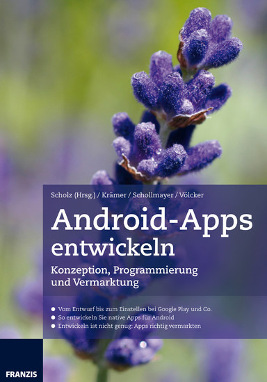 Android-Apps entwickeln - Blick ins Buch