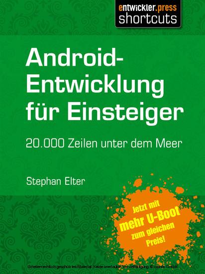Android-Entwicklung für Einsteiger - 20.000 Zeilen unter dem Meer - Blick ins Buch