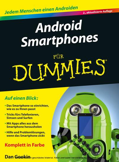 Android Smartphones für Dummies - Blick ins Buch