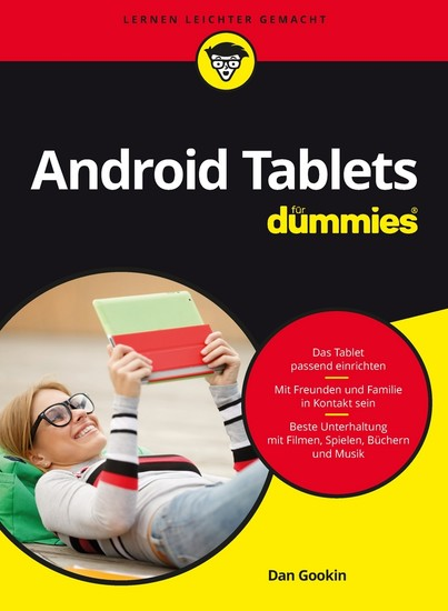 Android Tablets für Dummies - Blick ins Buch