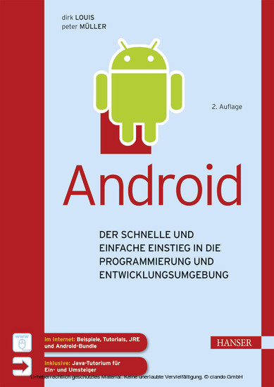 Android - Blick ins Buch