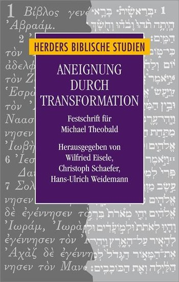 Aneignung durch Transformation - Blick ins Buch