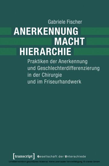 Anerkennung - Macht - Hierarchie - Blick ins Buch