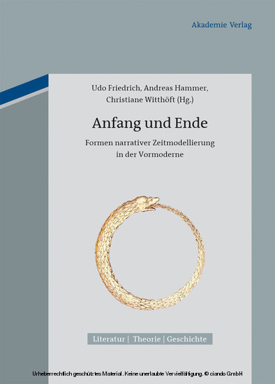 Anfang und Ende - Blick ins Buch