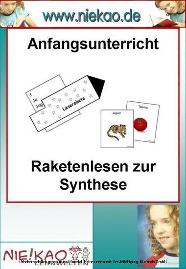 Anfangsunterricht - Raketenlesen zur Synthese - Blick ins Buch