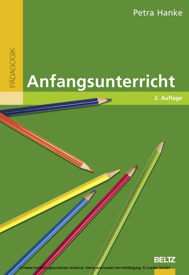 Anfangsunterricht - Blick ins Buch
