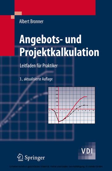 Angebots- und Projektkalkulation - Blick ins Buch