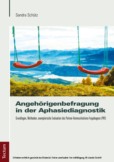 Angehörigenbefragung in der Aphasiediagnostik - Blick ins Buch
