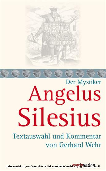 Angelus Silesius - Blick ins Buch