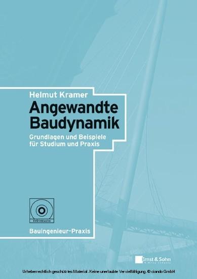 Angewandte Baudynamik - Blick ins Buch