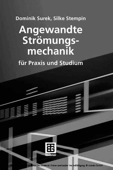 Angewandte Strömungsmechanik - Blick ins Buch
