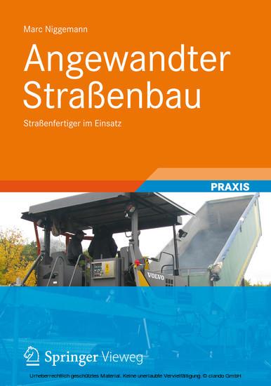 Angewandter Straßenbau - Blick ins Buch