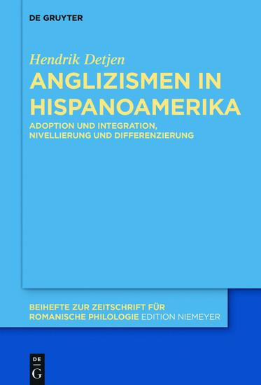 Anglizismen in Hispanoamerika - Blick ins Buch