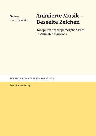 Animierte Musik - Beseelte Zeichen - Blick ins Buch