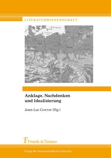 Anklage, Nachdenken und Idealisierung - Blick ins Buch