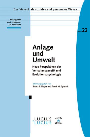 Anlage und Umwelt - Blick ins Buch