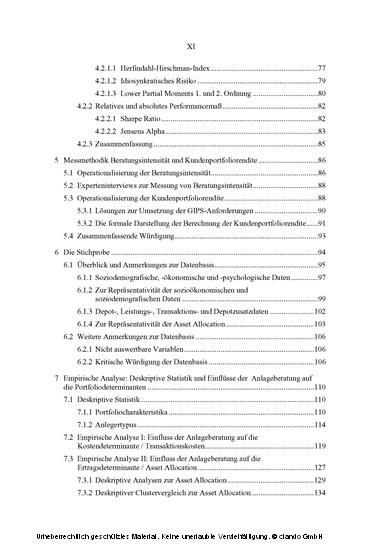 Anlageberatung bei Retailbanken - Blick ins Buch
