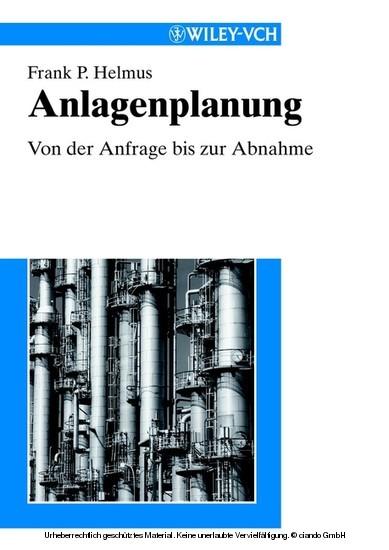Anlagenplanung - Blick ins Buch