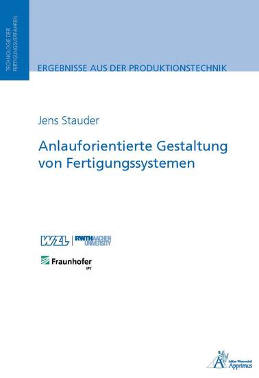 Anlauforientierte Gestaltung von Fertigungssystemen - Blick ins Buch
