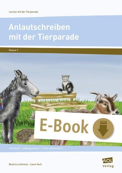 Anlautschreiben mit der Tierparade - Blick ins Buch