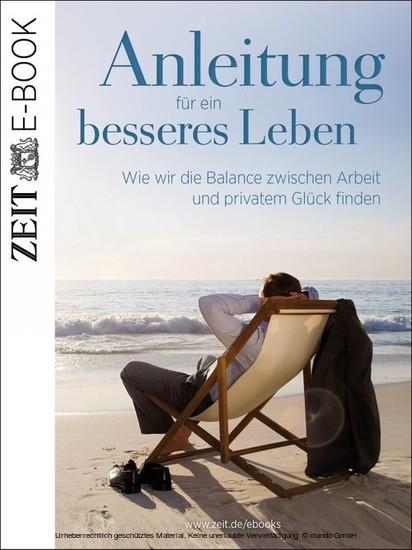 Anleitung für ein besseres Leben - Blick ins Buch