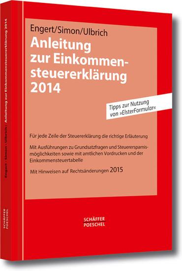 Anleitung zur Einkommensteuererklärung 2014 - Blick ins Buch
