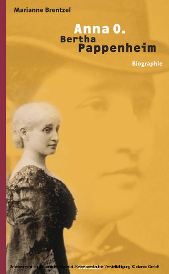 Anna O. - Bertha Pappenheim - Blick ins Buch