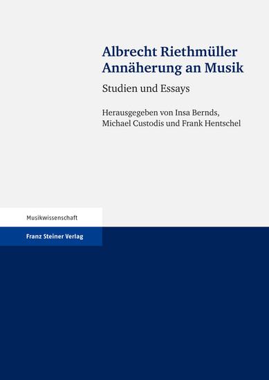 Annäherung an Musik - Blick ins Buch