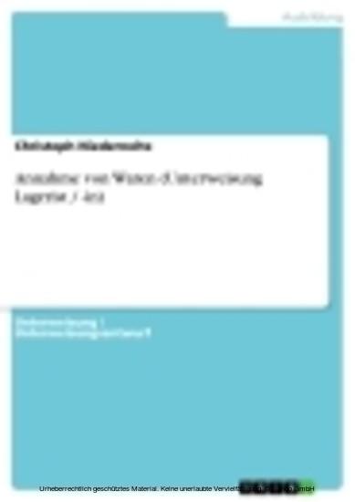 Annahme von Waren (Unterweisung Lagerist / -in) - Blick ins Buch