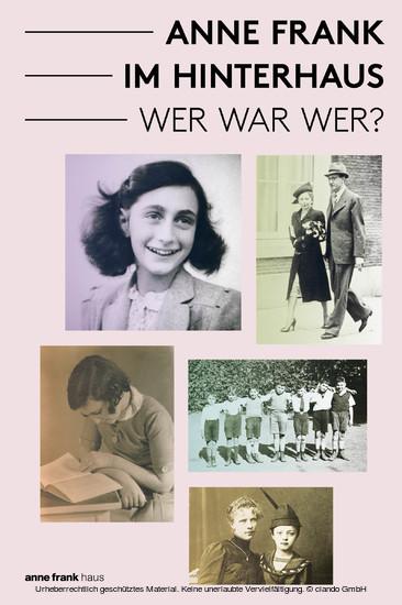 Anne Frank im Hinterhaus - Wer war Wer? - Blick ins Buch