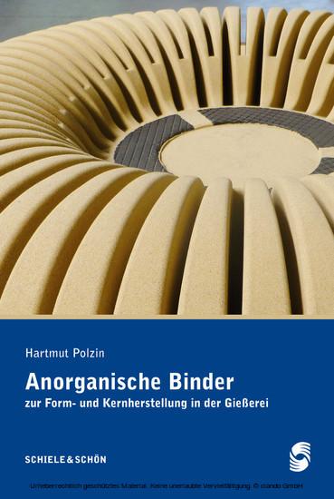 Anorganische Binder - Blick ins Buch