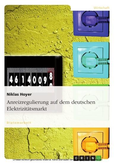 Anreizregulierung auf dem deutschen Elektrizitätsmarkt - Blick ins Buch