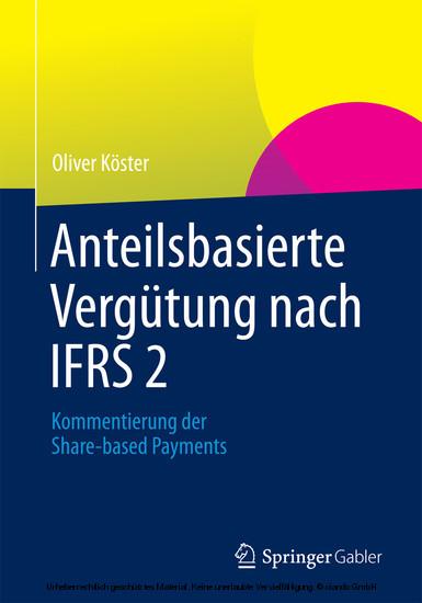 Anteilsbasierte Vergütung nach IFRS 2 - Blick ins Buch