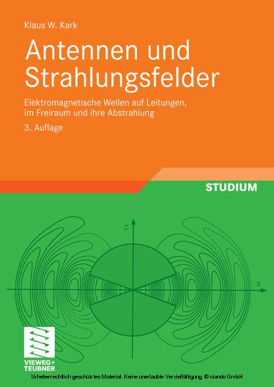 Antennen und Strahlungsfelder - Blick ins Buch