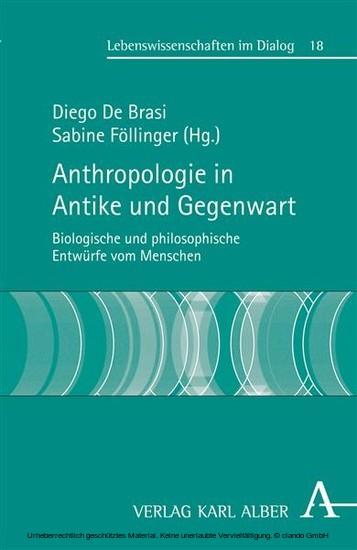 Anthropologie in Antike und Gegenwart - Blick ins Buch