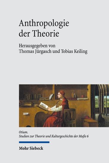 Anthropologie der Theorie - Blick ins Buch