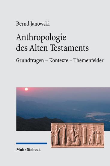 Anthropologie des Alten Testaments - Blick ins Buch